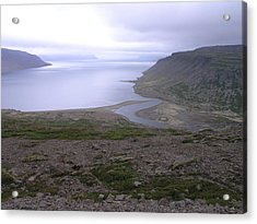 Acrylic Print featuring the photograph Breidavik by Christian Zesewitz