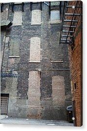 Brickovers Acrylic Print