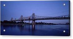 Bridge Across A River, Queensboro Acrylic Print