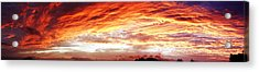 Bright Summer Sky Acrylic Print by Les Cunliffe