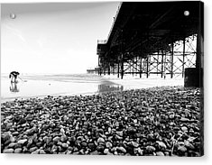 Brighton's Treasure Acrylic Print by Max CALLENDER