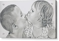 Brotherly Love Finished Acrylic Print
