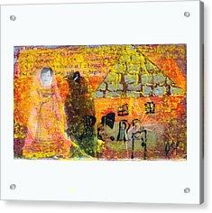 Brown House No 4 Acrylic Print