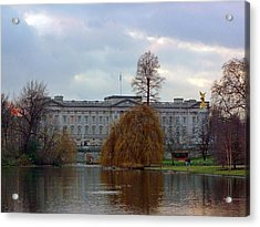 Buckingham Palace Acrylic Print by Lynn Bolt