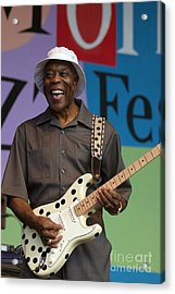 Buddy Guy Smiling Acrylic Print by Craig Lovell