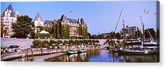 Buildings At The Waterfront, Empress Acrylic Print by Panoramic Images
