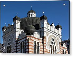 Bulgaria, Sofia, Sofia Synagogue, Built Acrylic Print by Walter Bibikow