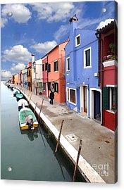 Burano 03 Acrylic Print by Giorgio Darrigo