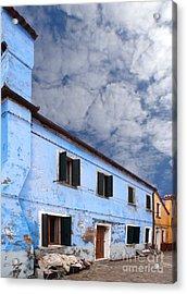 Burano 06 Acrylic Print by Giorgio Darrigo