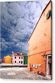 Burano 07 Acrylic Print by Giorgio Darrigo
