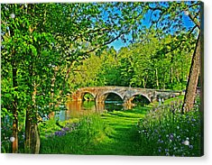 Acrylic Print featuring the photograph Burnside Bridge by Andy Lawless