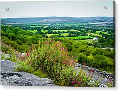 Burren National Park's Lovely Vistas Acrylic Print