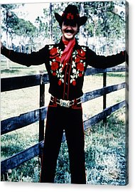 Burt Reynolds In Smokey And The Bandit  Acrylic Print by Silver Screen