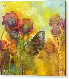 Butterfly Acrylic Print by Katie Black