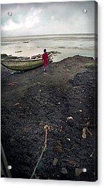 Sea Shore Ayetoro Acrylic Print