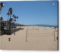Ca Beach - 12121 Acrylic Print by DC Photographer