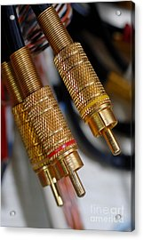 Cables And Wires Acrylic Print by Amy Cicconi