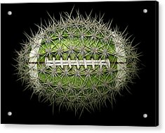 Cactus Football Acrylic Print