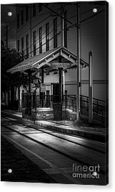 Cadrecha Plaza Station Acrylic Print by Marvin Spates