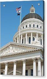 California State Capitol In Sacramento Acrylic Print