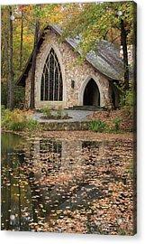 Acrylic Print featuring the photograph Callaway Gardens Chapel-pine Mountain Georgia by Mountains to the Sea Photo