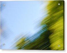 Camera Toss Acrylic Print