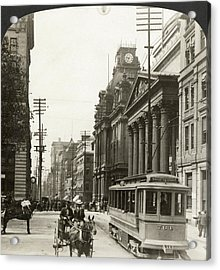 Canada Montreal, 1908 Acrylic Print by Granger
