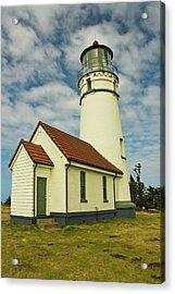 Cape Blanco Lighthouse, Cape Blanco Acrylic Print by Michel Hersen