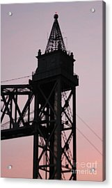 Cape Cod Canal Train Bridge Acrylic Print