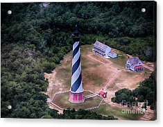 Cape Hatteras Lighthouse From Above Acrylic Print