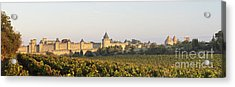 Carcassonne Languedoc Roussillon France Acrylic Print