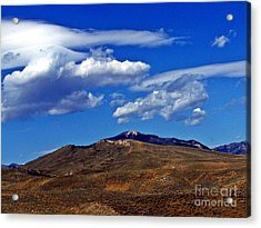 Caressed By Clouds Acrylic Print by Christian Mattison