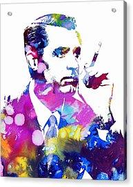 Cary Grant Acrylic Print by Doc Braham