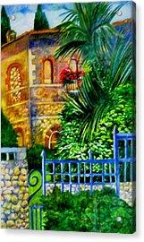 'casa At Radda' Acrylic Print