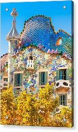 Casa Batllo - Barcelona Acrylic Print