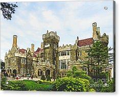 Casa Loma In Toronto Acrylic Print