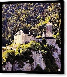 #castel #tirolo Acrylic Print