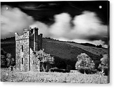 Castle Ruins / Ireland Acrylic Print by Barry O Carroll