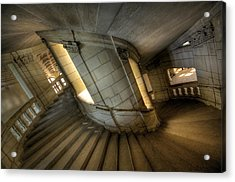 Castle Stairs Acrylic Print by Ioan Panaite