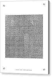 Catalogue Of 4096 Hilbertonians Acrylic Print