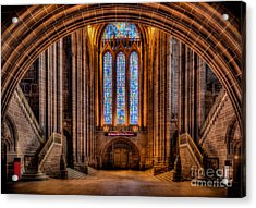 Cathedral Window Acrylic Print by Adrian Evans