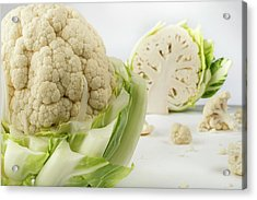 Cauliflower Acrylic Print by Aberration Films Ltd