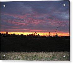 Cedar Point - 121212 Acrylic Print by DC Photographer