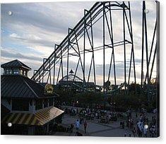 Cedar Point - Raptor - 12121 Acrylic Print