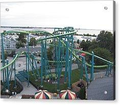 Cedar Point - Raptor - 12122 Acrylic Print