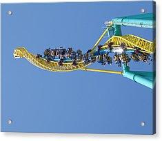 Cedar Point - Wicked Twister - 12122 Acrylic Print