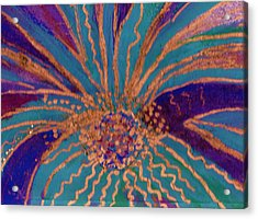 Celebration Acrylic Print by Anne-Elizabeth Whiteway