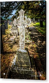 Celtic Cross Acrylic Print by Adrian Evans