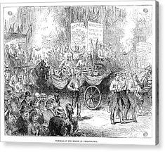 Centennial Parade, 1876 Acrylic Print by Granger