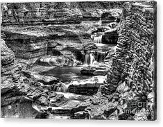 Central Cascade Watkins Glen Acrylic Print
